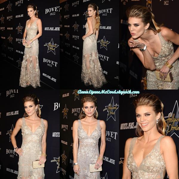 19/02/15 : AnnaLynne se rendait au 8e Gala annuel Hollywood Domino à Hollywood.