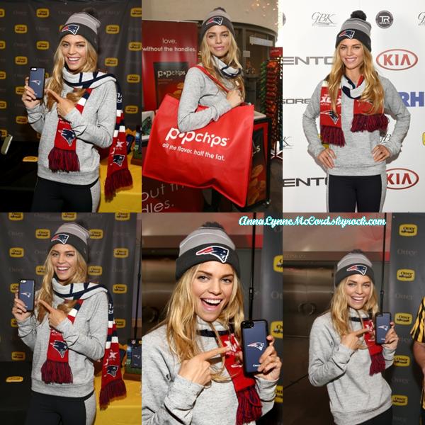 31/01/15 : AnnaLynne était présente au Jour 2 du Kia Luxury Lounge  à Scottsdale.