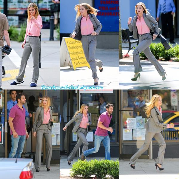 22/07/14 : AnnaLynne se trouvait au tournage de Photographs à Vancouver.