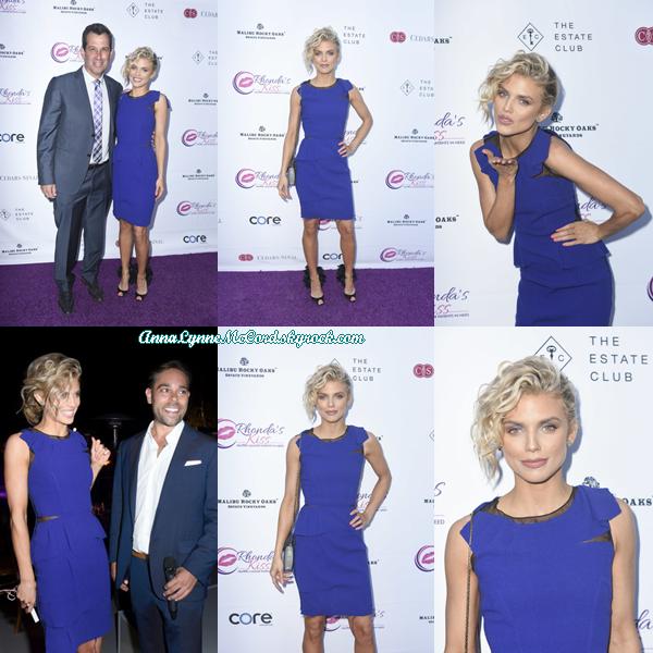 13/06/18 : AnnaLynne se trouvait au dîner de collecte « Kiss The Stars » au Sky Castle de Los Angeles.  J'aime beaucoup la robe que porte Anna, c'est un joli top pour ce dîner !