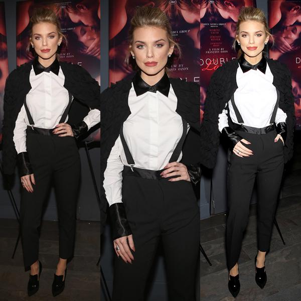 25/01/18 : AnnaLynne assistait à la première du film Double Lover à New-York.  Abracadabra ! Magicienne McCord est juste magnifique dans cette tenue lui allant à ravir c'est un TOP !