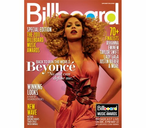 Beyonce pour Billboard mag 2011