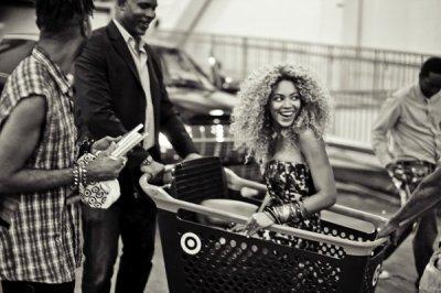 Beyonce en promo américaine