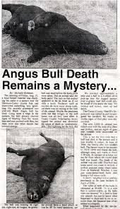 l'affaire du bétail mutilé