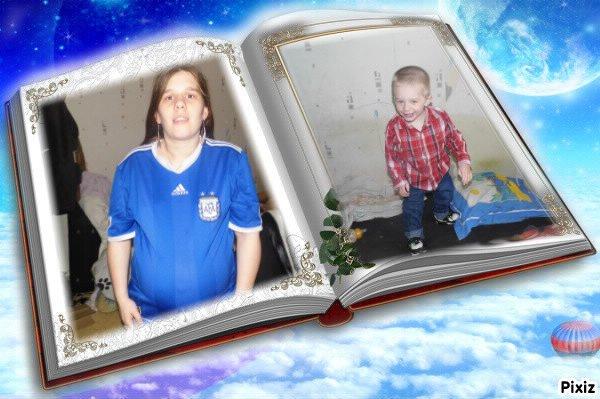 ma belel soeur christelle fait le 7 mai 2013 et son flis alexis de 1 ans fait le 20 mai 2013
