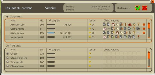 Record de temps Ougah encore battus !