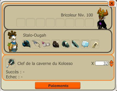 Le kolosso, ses items et le farming !