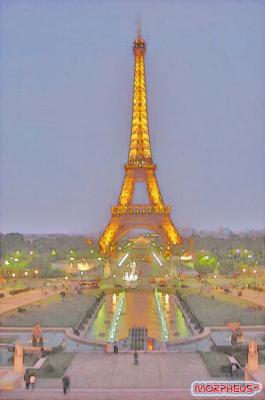 Peinture De La Tour Eiffel Graphic Box