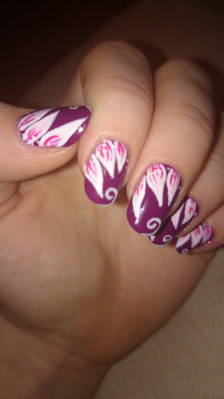 ~ Nail Art ~ Pétales de fleur