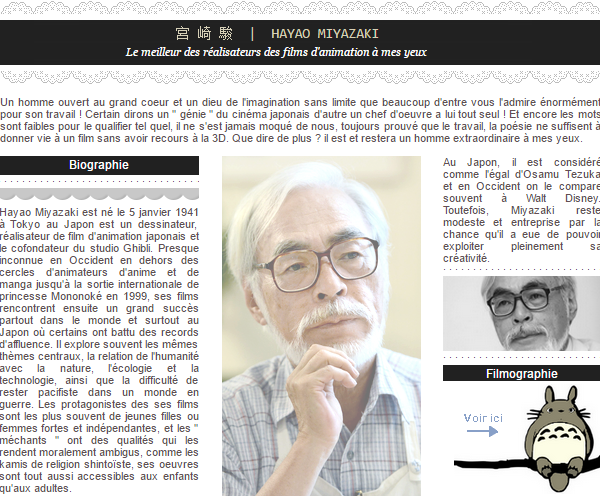 . 🌿- Hayao Miyazaki | Biography
