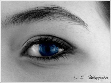 Photographie N°24 _ Dans un regard ...