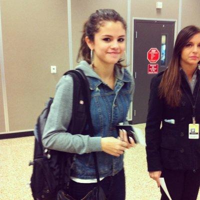 Selena à l'aéroport de Salt Lake City