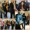 Selena à l'aéroport LAX, Los Angeles