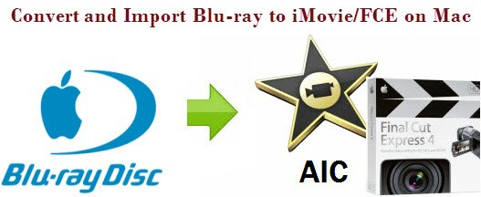Blu-ray to AIC MOV - Rip Blu-ray to MOV to editing in iMovie/FCE