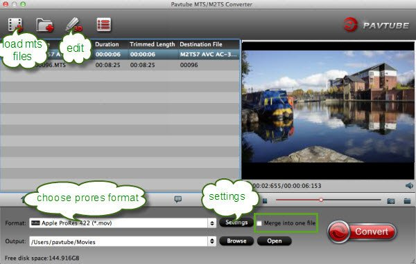 How to import AVCHD Lite video from Panasonic Lumix DMC-TS1 to FCP