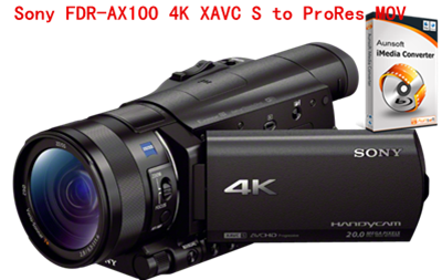 Quickest way to convert Sony FDR-AX100 4K XAVC S to ProRes MOV for FCP X