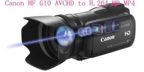 Convert Canon HF G10 AVCHD 2.0 to H.264 HD MP4 with iMedia Converter for Mac