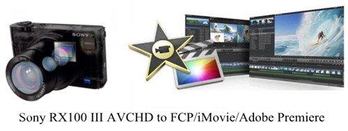 Ingesting/editing Sony RX100 III AVCHD into Final Cut Pro Avid iMovie
