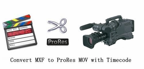 AG-HPX500 P2 MXF to ProRes MOV with timecode for FCP editing