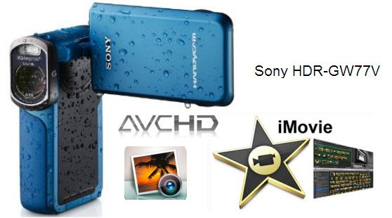 Does iMovie 10.0.3 recognise 1080P MTS video from Sony Waterproof HDR-GW77 Handycam?