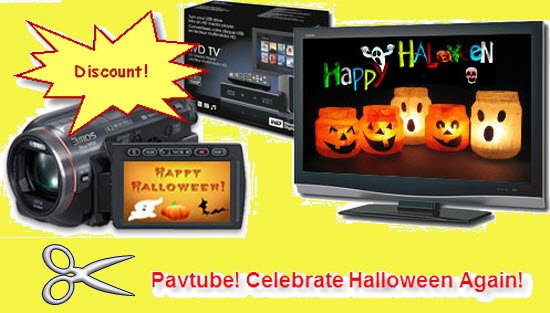Again Celebration of Halloween Converters Promotion by Pavtube Studio!
