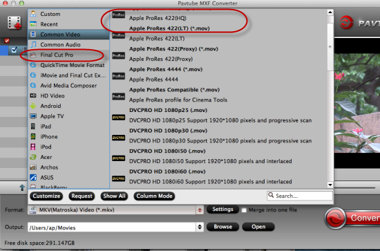 Edit Panasonic P2 HD Camera Footage in FCP