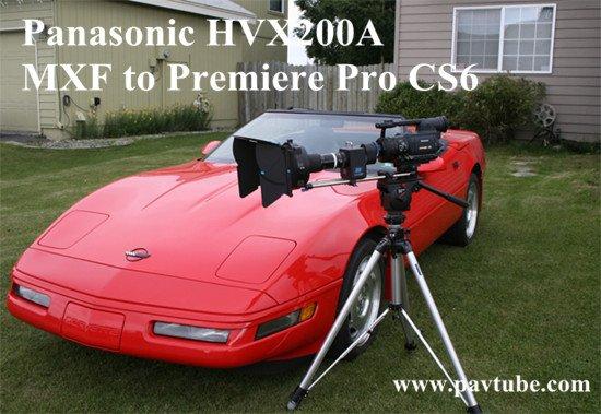 Panasonic HVX200A P2 MXF to Premiere Pro CS6 Troubles