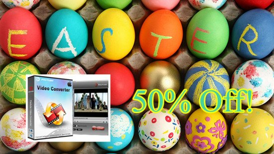 2015 Easter Promotion- Special Offer on Pavtube Video Converter for Mac with 50% Off