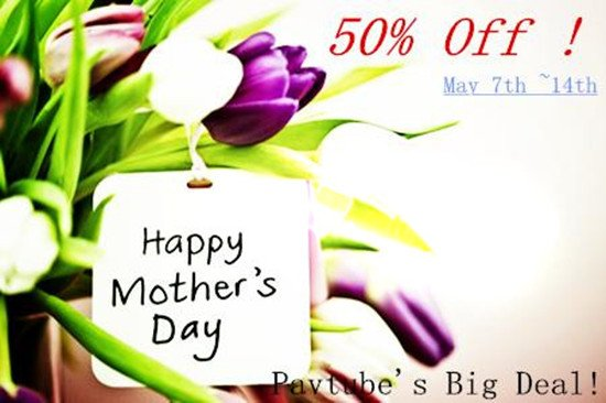 Pavtube Biggest Promotion for 2015 Mothers Day