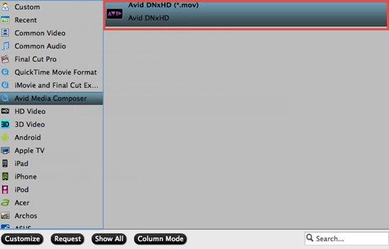 Edit AX30 4K XAVC S Files in Avid MC 8/7/6.5/6 on PC/Mac