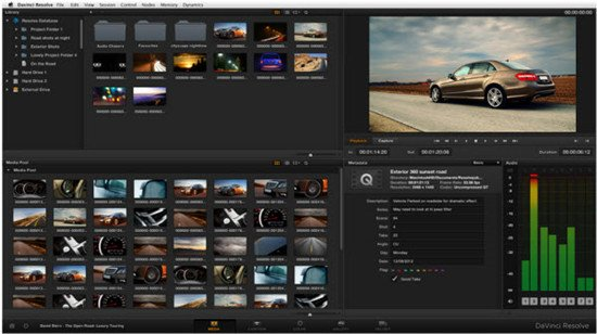 MXF to DaVinci Resolve- Import Ikegami MXF to DaVinci Resolve for Editing