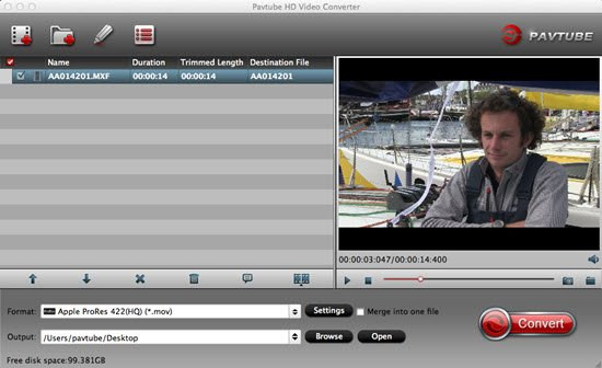 Import Canon EOS 5DS MOV to iMovie for Editing