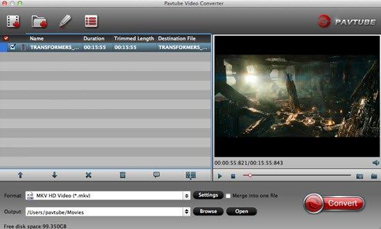 Import Panasonic FZ1000 4K Video to iMovie for Editing