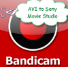 Sony Movie Studio 11 wont Open Bandicam AVI Files?
