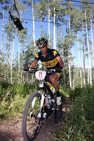 Armstrong sur X-Terra