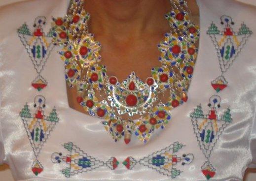 Bijoux kabyle 2016 for Decoration yennayer