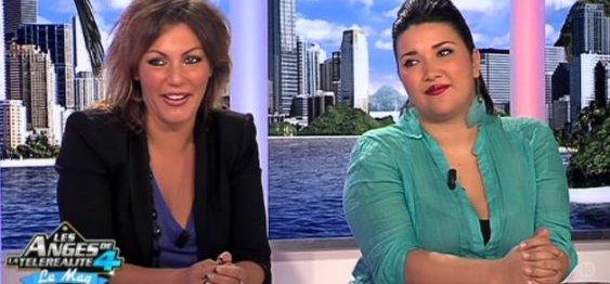 Carine Haddadou et Amalya Delepierre Dans Les Anges Le Mag (Mise à Jour)