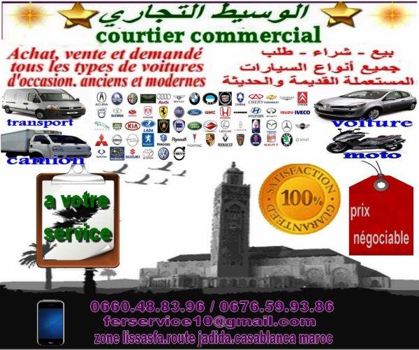 Spécialiste de achat_vente_demande: tous les les types de voitures d'occasion,anciens et modernes au maroc
