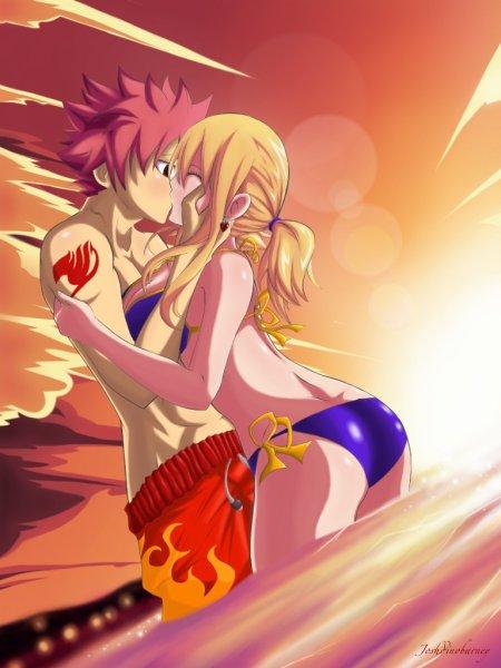 Le couple Natsu X Lucy