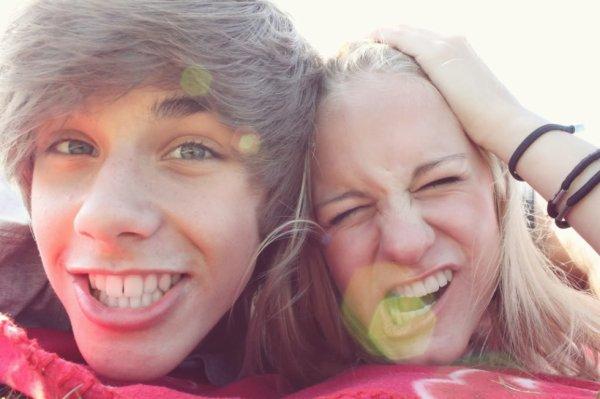 Avec mon amie Sabrina :)