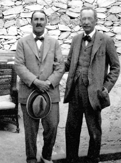 Howard Carter et Lord Carnarvon
