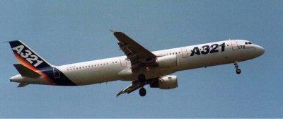 L'Airbus A321