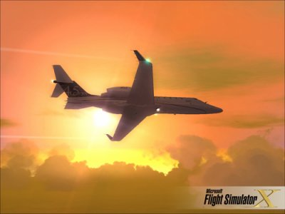 bombardier learjet 45 par Flight simulator