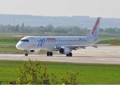 Un avion sort de la piste à l'atterrissage à Roissy