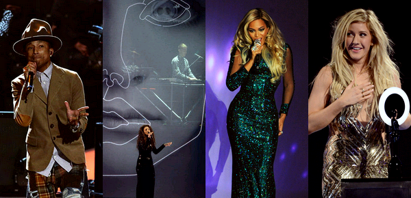2014 BRIT AWARDS.
