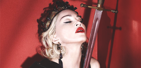 MADONNA : REBEL HEART.