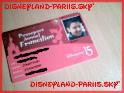 Passeport annuel !