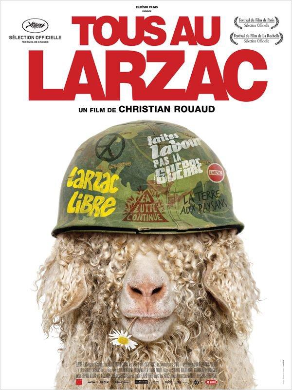 """71) Lundi 9 avril 2012 : séance-rencontre """"Tous au Larzac"""" avec la Confédération paysanne du Cher"""