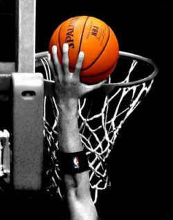 Ma passion : le basket - ball.