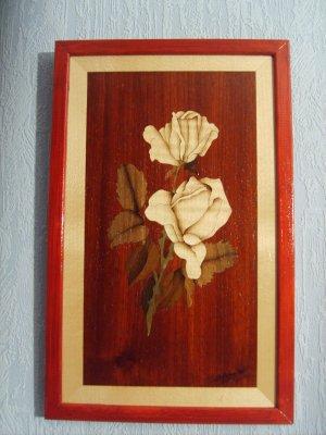 Marqueteries : Fleurs